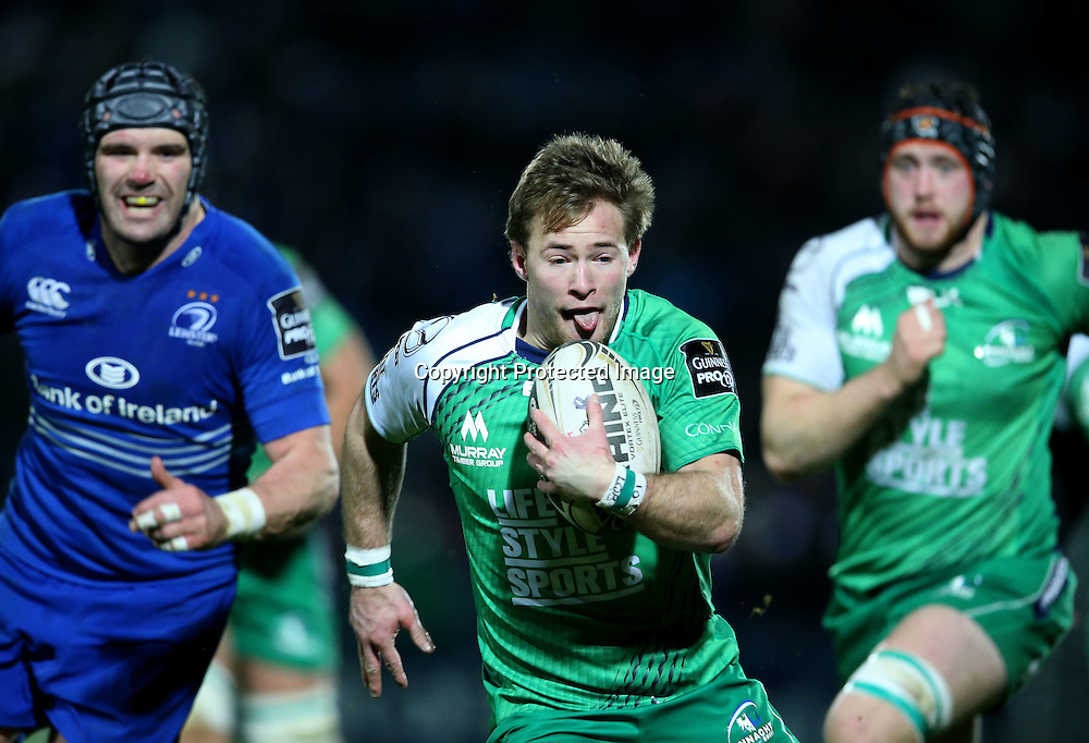 Guinness PRO12, RDS, Dublin 19/12/2014<br /> Leinster vs Connacht<br /> Kieran Marmion of Connacht<br /> Mandatory Credit &copy;INPHO/Dan Sheridan