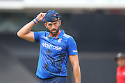 England Liam Plunkett during the Royal London One Day International match between England and New Zealand at the Oval, London, United Kingdom on 12 June 2015. Photo by Phil Duncan.