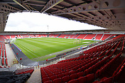 Doncaster Rovers Keepmoat stadium before the EFL Sky Bet League 1 match between Doncaster Rovers and Scunthorpe United at the Keepmoat Stadium, Doncaster, England on 17 September 2017. Photo by Ian Lyall.