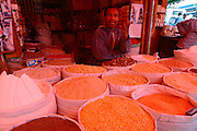"""ADDIS ABABA, ETHIOPIA..The """"Mercato"""", biggest market between Cairo and Cape Town. Spices..(Photo by Heimo Aga)"""
