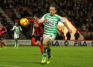Picture by Tom Smith/Focus Images Ltd 07545141164<br /> 26/12/2013<br /> James Hayter of Yeovil Town during the Sky Bet Championship match at the Goldsands Stadium, Bournemouth.