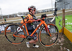13.01.2019, Wien, AUT, ÖRV, Rad Radcross Staatsmeisterschaft, Damen Elite im Bild Nadja Heigl (AUT, KTM Alchemist Racing Team) // during womens elite cyclo cross championship, Vienna, Austria on 2019/01/03. EXPA Pictures © 2019, PhotoCredit: EXPA/ R. Eisenbauer