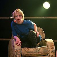 Yen by Anna Jordan;<br /> Directed by Ned Bennett;<br /> Sian Breckin as Maggie;<br /> Jerwood Theatre Upstairs, Royal Court, London, UK;<br /> 22 January 2016