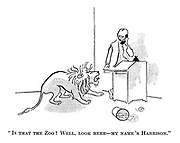 """""""Is that the zoo? Well, look here — my name's Harrison."""""""