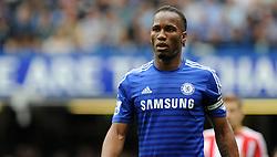 Chelsea's Didier Drogba - Photo mandatory by-line: Alex James/JMP - Mobile: 07966 386802 - 24/05/2015 - SPORT - Football - London - Stamford Bridge - Chelsea v Sunderland - Barclays Premier League
