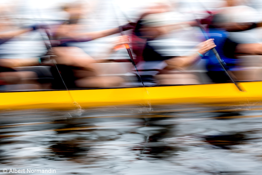 Dragon Boat Races, Plus 55 Games competition, British Columbia, Canada