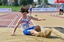 03/08/2017; Johannesson, Fannar Logi, F20, ISL at 2017 World Para Athletics Junior Championships, Nottwil, Switzerland
