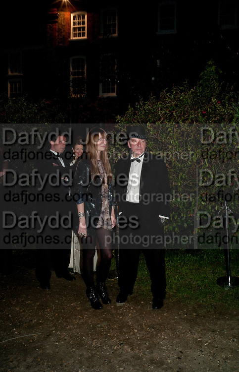 MISCHA BARTON; KEVIN SPACEY, The Ormeley dinner in aid of the Ecology Trust and the Aspinall Foundation. Ormeley Lodge. Richmond. London. 29 April 2009
