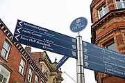 12 January 2017: Hull Museums Quarter. Street signs.<br /> Picture: Sean Spencer/Hull News & Pictures Ltd<br /> 01482 210267/07976 433960<br /> www.hullnews.co.uk         sean@hullnews.co.uk