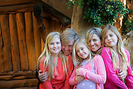 ARGENTINIA King Willem-Alexander, Queen Maxima, Princess Amalia, Princess Alexia and Princess Ariane visit during their christmas holiday national park Los Arrayanes in Villa la Angostura, Argentina, 22 December 2014 COPYRIGHT ROBIN UTRECHT