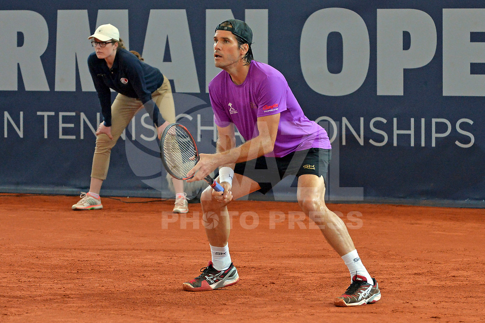 HAMBURGO, ALEMANHA, 25.06.2017 - OPEN-ALEMANHA - O tenista Tommy Hass durante partida contra Nicolas Kicker valido pelo German Open Tennis Championships na cidade de Hamburgo na Alemanha. (Foto:Michael Timm/ Brazil Photo Press)