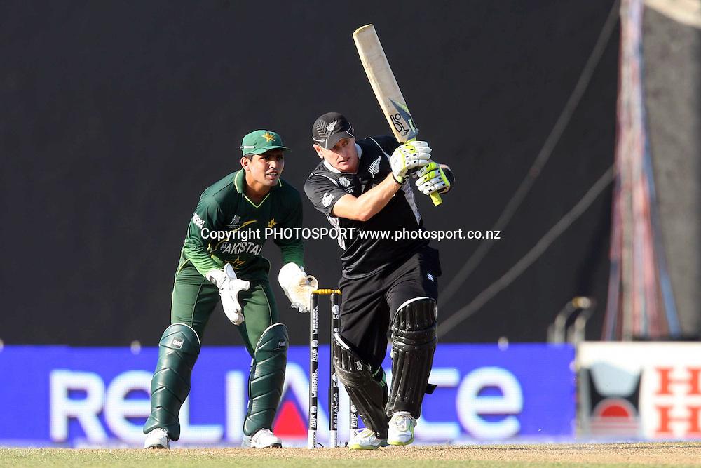 Scott Styris. ICC Cricket World Cup. New Zealand vs Paksitan. Pallekele Cricket Stadium, Kandy, Sri Lanka. Tuesday 8 March 2011. Photo: photosport.co.nz