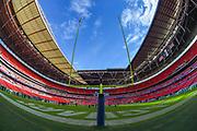General view inside Wembley Stadium before the International Series match between Jacksonville Jaguars and Philadelphia Eagles at Wembley Stadium, London, England on 28 October 2018.