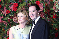 George Osborne, Frances Osborne, 64th Evening Standard Theatre Awards, Theatre Royal Drury Lane, London UK, 18 November 2018, Photo by Richard Goldschmidt