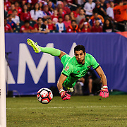 Panama Keeper JAIME PENEDO (1) watches the ball fly past him in the first half of a Copa America Centenario Group D match between the Chile and Panama Tuesday, June. 14, 2016 at Lincoln Financial Field in Philadelphia, PA.