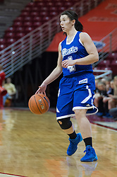 03 January 2014: Kyndal Clark  during an NCAA women's basketball game between the Drake Bulldogs and the Illinois Sate Redbirds at Redbird Arena in Normal IL