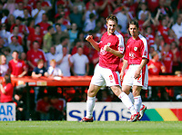 Photo: Leigh Quinnell.<br /> Bristol City v Rotherham United. Coca Cola League 1. 05/05/2007. David Noble celebrates scoring goal number 2 for Bristol City.
