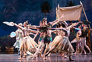 La Bayadere <br /> A ballet in three acts <br /> Choreography by Natalia Makarova <br /> After Marius Petipa <br /> The Royal Ballet <br /> At The Royal Opera House, Covent Garden, London, Great Britain <br /> General Rehearsal <br /> 30th October 2018 <br /> <br /> STRICT EMBARGO ON PICTURES UNTIL 2230HRS ON THURSDAY 1ST NOVEMBER 2018 <br /> <br /> <br /> Photograph by Elliott Franks Royal Ballet's Live Cinema Season - La Bayadere is being screened in cinemas around the world on Tuesday 13th November 2018 <br />