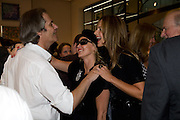 DAVID FABER; AMANDA ELIASCH; TRINNY WOODALL, Book launch party for  Sashenka, a romantic novel set in St Petersburg following a society girl who becomes involved with the Communist Party. By Simon Sebag-Montefiore. Asprey. New Bond St. London. 1 July 2008.  *** Local Caption *** -DO NOT ARCHIVE-© Copyright Photograph by Dafydd Jones. 248 Clapham Rd. London SW9 0PZ. Tel 0207 820 0771. www.dafjones.com.