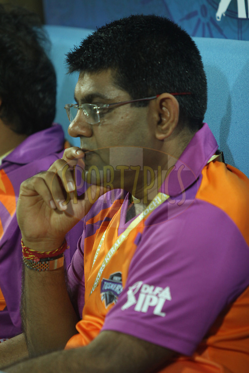 Owners of Kochi Tuskers kerala  during  match 10 of the Indian Premier League ( IPL ) Season 4 between the Pune Warriors and the Kochi Tuskers Kerala held at the Dr DY Patil Sports Academy, Mumbai India on the 12th April 2011..Photo by Sandeep Shetty/BCCI/SPORTZPICS