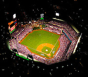Aerial view of Game 4 of the World Series at Citizens Bank Park.  Philadelphia Phillies vs the Tampa Bay Rays