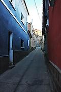 Narrow Potosi street