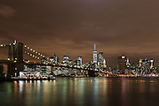 Brooklyn Bridge & Lower Manhattan<br />
