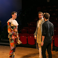 The Rehearsal by Jean Anouilh;<br /> Directed by Jeremy Sams;<br /> Edward Bennett (as Hero);<br /> Joseph Arkley (as Villebosse);<br /> Minerva Theatre, Chichester;<br /> 13 May 2015.