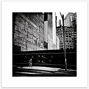 &quot;Time Traveller&quot;, O'Connell Street, Sydney. From the Ephemeral Sydney street series.<br />