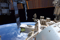 Jun 3, 2017 - Space - NASA astronaut Jack Fischer tweeted this photograph from the International Space Station, writing, 'Never had a corner office with a view, but I must admit, I like it a lot!' Fischer, a member of the 2009 astronaut class now on his first mission in space, has been living and working aboard the orbiting laboratory since April 20, 2017 and is scheduled to return to Earth in September. The Expedition 52 crew is conducting science investigations in fields such as biology, Earth science, human research, physical sciences and technology development. (Credit Image: © NASA via ZUMA Wire/ZUMAPRESS.com)