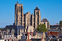 France, Cher (18), Bourges, cathédrale Saint-Etienne de Bourges, site classé Patrimoine mondial de l'UNESCO // France, Cher (18), Bourges, St Etienne cathedral, UNESCO world heritage