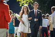SHOT 6/2/16 8:34:14 AM - Colorado Academy Class of 2016 Commencement ceremonies at the Denver, Co. private school. The school graduated 88 seniors this year and the event capped a week filled with awards, tributes, and celebrations for the outgoing senior class. (Photo by Marc Piscotty / © 2016)
