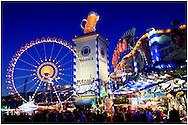 Die Wiesn in München - Oktoberfest Double Exposure Series in Munich, Germany