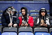 Bolton Wanderers fans  before  the EFL Sky Bet League 1 match between Bolton Wanderers and Wycombe Wanderers at the University of  Bolton Stadium, Bolton, England on 15 February 2020.