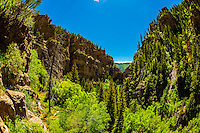 Dead Horse Creek Canyon, Glenwood Canyon, near Glenwood Springs, Colorado USA.
