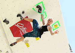 31.07.2015, Mariahilfer Straße, Wien, AUT, ISFC, Free Solo Masters MAHÜ, Vorqualifikation, im Bild Katharina Regnat // during the prequalification of the ISFC Free Solo Masters MAHÜ at the Mariahilfer Straße in Vienna, Austria on 2015/07/31. EXPA Pictures © 2015, PhotoCredit: EXPA/ Sebastian Pucher