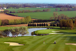 NORMANDY, FRANCE - MAY-01-2007 - Omaha Beach Golf Club -  Course: L' Etang (The Lake) Hole 8 - 391 yards - Par 4 (Photo © Jock Fistick)