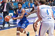 DESCRIZIONE : Cantu, Lega A 2015-16 Acqua Vitasnella Cantu' Enel Brindisi<br /> GIOCATORE : Adrian Banks<br /> CATEGORIA : Palleggio difesa<br /> SQUADRA : Enel Brindisi<br /> EVENTO : Campionato Lega A 2015-2016<br /> GARA : Acqua Vitasnella Cantu' Enel Brindisi<br /> DATA : 31/10/2015<br /> SPORT : Pallacanestro <br /> AUTORE : Agenzia Ciamillo-Castoria/I.Mancini<br /> Galleria : Lega Basket A 2015-2016  <br /> Fotonotizia : Cantu'  Lega A 2015-16 Acqua Vitasnella Cantu'  Enel Brindisi<br /> Predefinita :