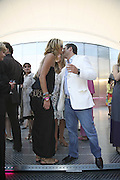 Elle Macpherson and Luca del Bono, The Summer Party sponsored by Yves St. Laurent. Serpentine Gallery. 11 July 2006. . ONE TIME USE ONLY - DO NOT ARCHIVE  © Copyright Photograph by Dafydd Jones 66 Stockwell Park Rd. London SW9 0DA Tel 020 7733 0108 www.dafjones.com