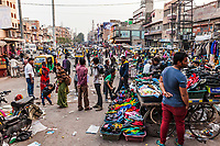 Street Scene. Sardar Market, Jodhpur, Rajasthan, India.