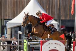 Collard-Bovy Lionel, BEL, Havane GP du Bois Madame<br /> Belgian Championship 7 years old horses<br /> SenTower Park - Opglabbeek 2020<br /> © Hippo Foto - Dirk Caremans<br />  13/09/2020