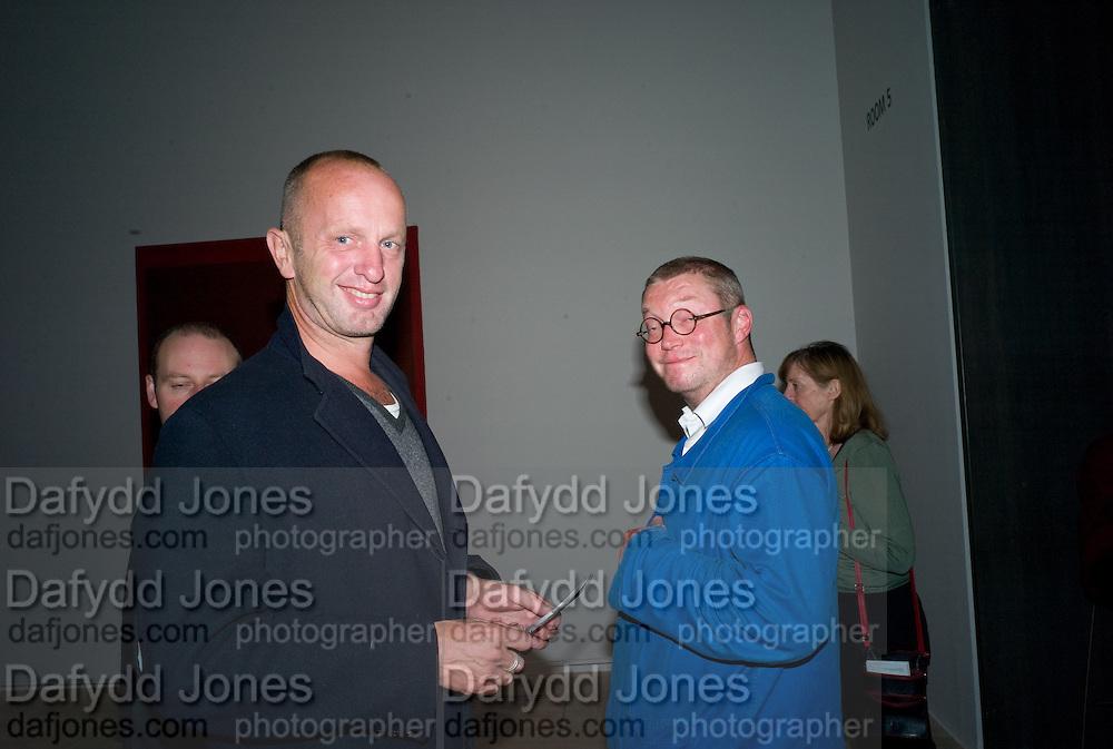 JOHNNY SHAND KYDD; FERGUS HENDERSON. Mark Rothko private view. Tate Modern. 24 September 2008 *** Local Caption *** -DO NOT ARCHIVE-© Copyright Photograph by Dafydd Jones. 248 Clapham Rd. London SW9 0PZ. Tel 0207 820 0771. www.dafjones.com.
