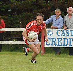 Ballintubber&rsquo;s Alan Dillon senior football championship.<br /> Pic Conor McKeown