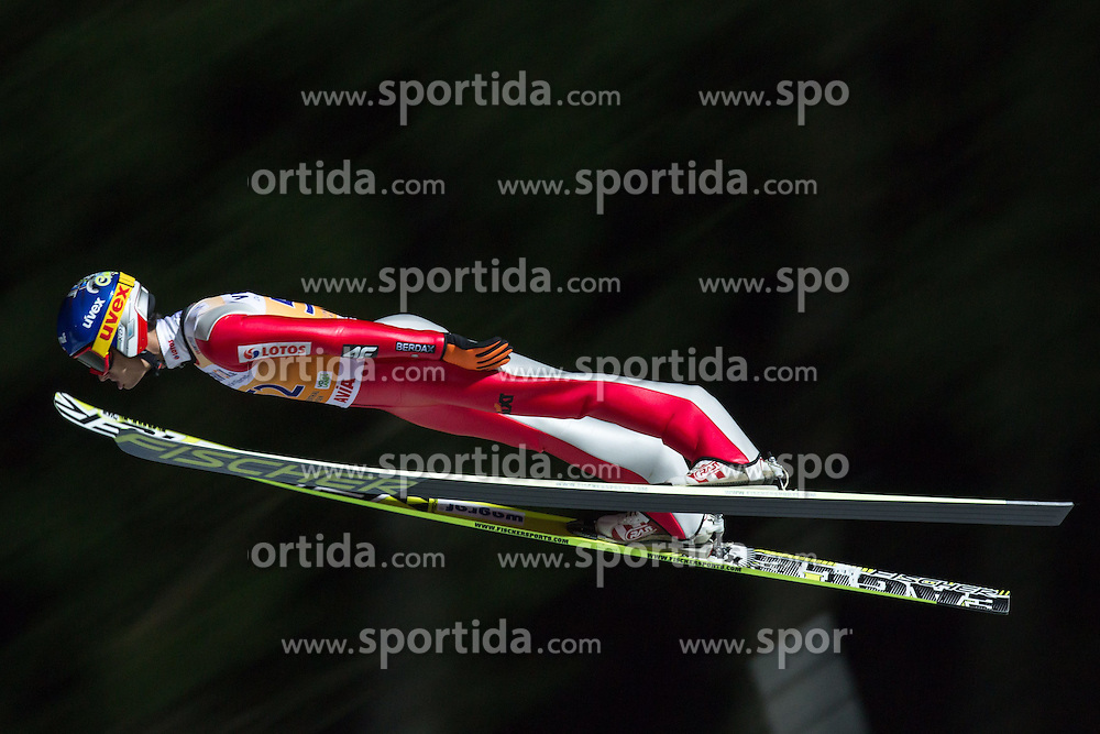 21.11.2014, Vogtland Arena, Klingenthal, GER, FIS Weltcup Ski Sprung, Klingenthal, Herren, HS 140, Qualifikation, im Bild MACIEJ KOT // during the mens HS 140 qualification of FIS Ski jumping World Cup at the Vogtland Arena in Klingenthal, Germany on 2014/11/21. EXPA Pictures &copy; 2014, PhotoCredit: EXPA/ Newspix/ Katarzyna Plewczynska<br /> <br /> *****ATTENTION - for AUT, SLO, CRO, SRB, BIH, MAZ, TUR, SUI, SWE only*****