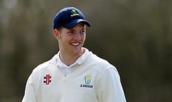 Glamorgan's Craig Meschede - Photo mandatory by-line: Harry Trump/JMP - Mobile: 07966 386802 - 24/03/15 - SPORT - CRICKET - Pre Season Fixture - Day 2 - Somerset v Glamorgan - Taunton Vale Cricket Club, Somerset, England.