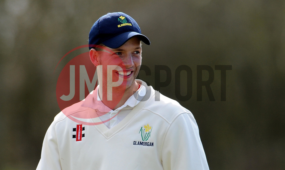 Glamorgan's Craig Meschede - Photo mandatory by-line: Harry Trump/JMP - Mobile: 07966 386802 - 24/03/15 - SPORT - CRICKET - Pre Season Fixture - Day 2 - Somerset v Glamorgan - Taunton Vale Cricket Club, Somerset, England.