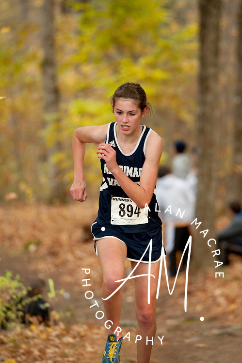 Merrimack Valley's Brianna Tevnan [894]  (Alan MacRae/for the Citizen)