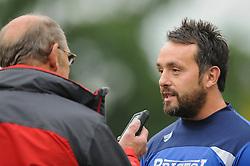 Matt Sherratt of Bristol Rugby - Mandatory byline: Dougie Allward/JMP - 07966386802 - 10/10/2015 - RUGBY - Vallis Way -West Ealing,England - Ealing Trailfinders v Bristol Rugby - Greene King IPA Championship