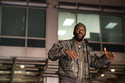 October 20, 2016 - Chicago, United States - Rhymefest speaks at a Laquan Day rally in Chicago on October 20, 2016. Over 200 people gathered outside Chicago Police Headquarters to commemorate the life of 17-year-old police shooting victim Laquan McDonald on the two year anniversary of his death. (Credit Image: © Max Herman/NurPhoto via ZUMA Press)