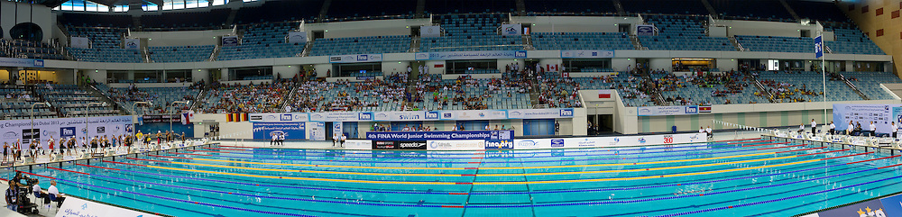 Panoramica<br /> 4th FINA World Junior Swimming Championships<br /> Day06 Aug.31 Heats<br /> Dubai U.A.E. 26-31 August 2013<br /> Photo R.Pannunzi/Insidefoto/Deepbluemedia.eu